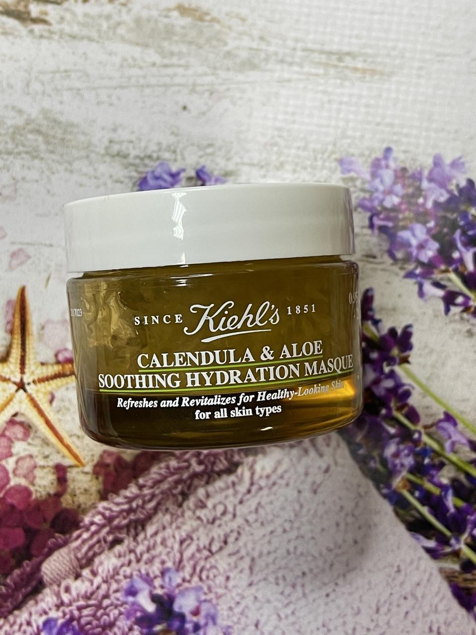 Увлажняющая маска с календулой и алоэ для лица Kiehl's Calendula & aloe soothing hydration masque