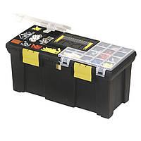 Інструментальний Ящик 50см 2 касетницы (020001-849) STANLEY 1-93-336, фото 1