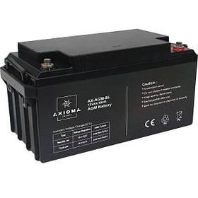 Аккумулятор мультигелевый AGM 65АЧ 12В Axioma Energy AX-AGM-65