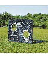 Раскладные футбольные ворота с мишенью 2 в 1 Net Playz