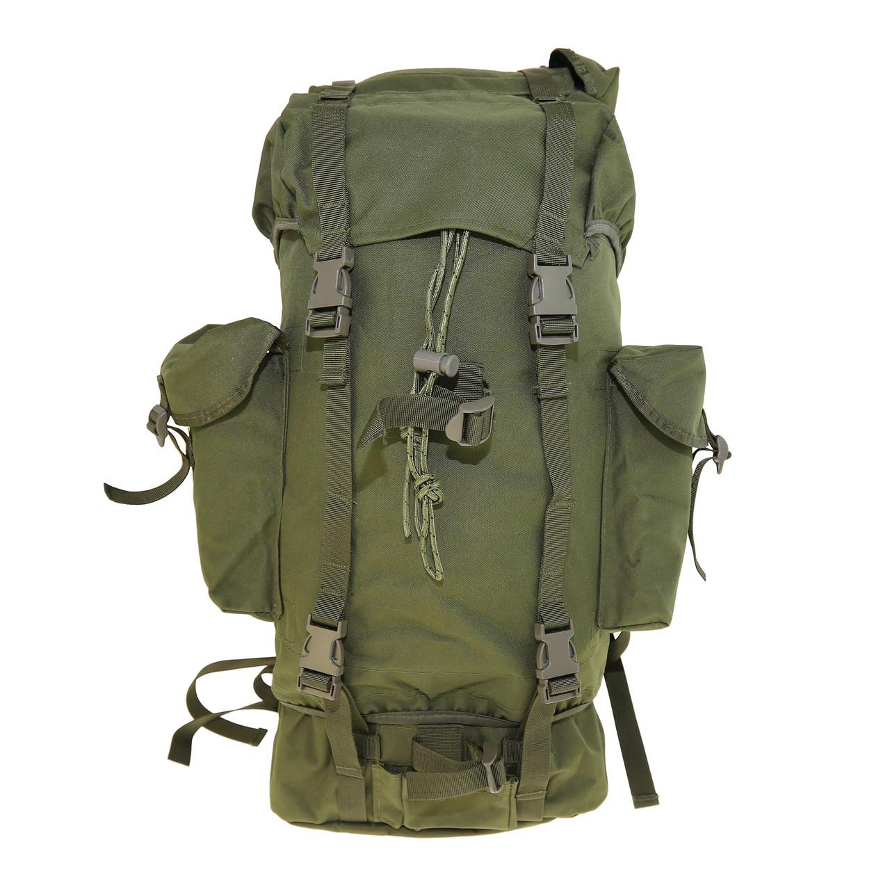 Рюкзак военный тактический оливковый Max Fuchs Combat , 65 литров