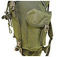 Рюкзак военный тактический оливковый Max Fuchs Combat , 65 литров, фото 6