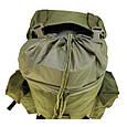 Рюкзак военный тактический оливковый Max Fuchs Combat , 65 литров, фото 7