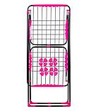 Сушарка для білизни Elegancie 16 м підлогова алюмінієва, фото 2
