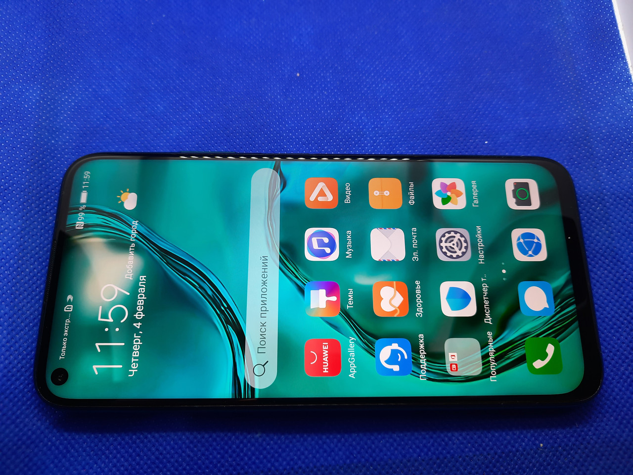 Huawei P40 lite 6/128GB Crush Green #1270ВР