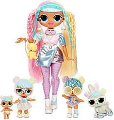 L.O.L. Surprise! Exclusive O.M.G. Bon Bon Family - Fashion Doll, Dolls and Pet with 45+ (семья Кендилишис)