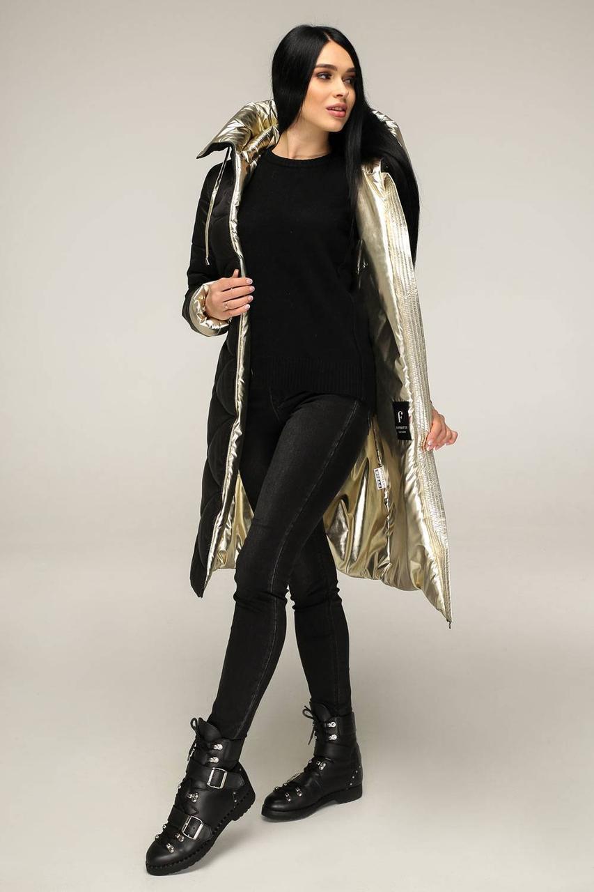 Стильная куртка черного цвета