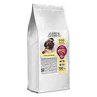 Home Food (Сухий корм гіпоалергенний для собак малих і середніх порід телятина овочі і ароматні трави 700 г)