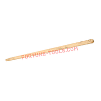 Черенок деревянный для граблей, d30, длина 1,5м