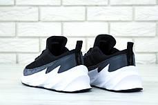 Мужские кроссовки Adidas Sharks. Серые. ТОП реплика ААА класса, фото 3