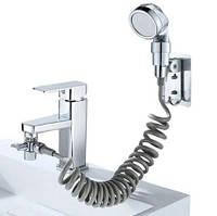 Душевая система на умывальник Modified Faucet With external Shower, фото 1