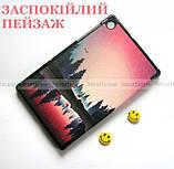 Цветной чехол Озеро для Lenovo Tab M10 FHD Plus Iron Grey (TB X606X X606F) Ivanaks Tri fold lake, фото 5