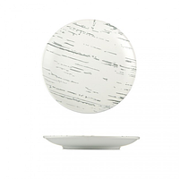 Тарелка круглая светлый камень 20,5 см