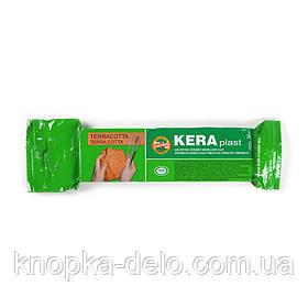 Пластилин KOH-I-NOOR 131709  Keraplast терракотовый, 300 г. На основе натуральной глины.