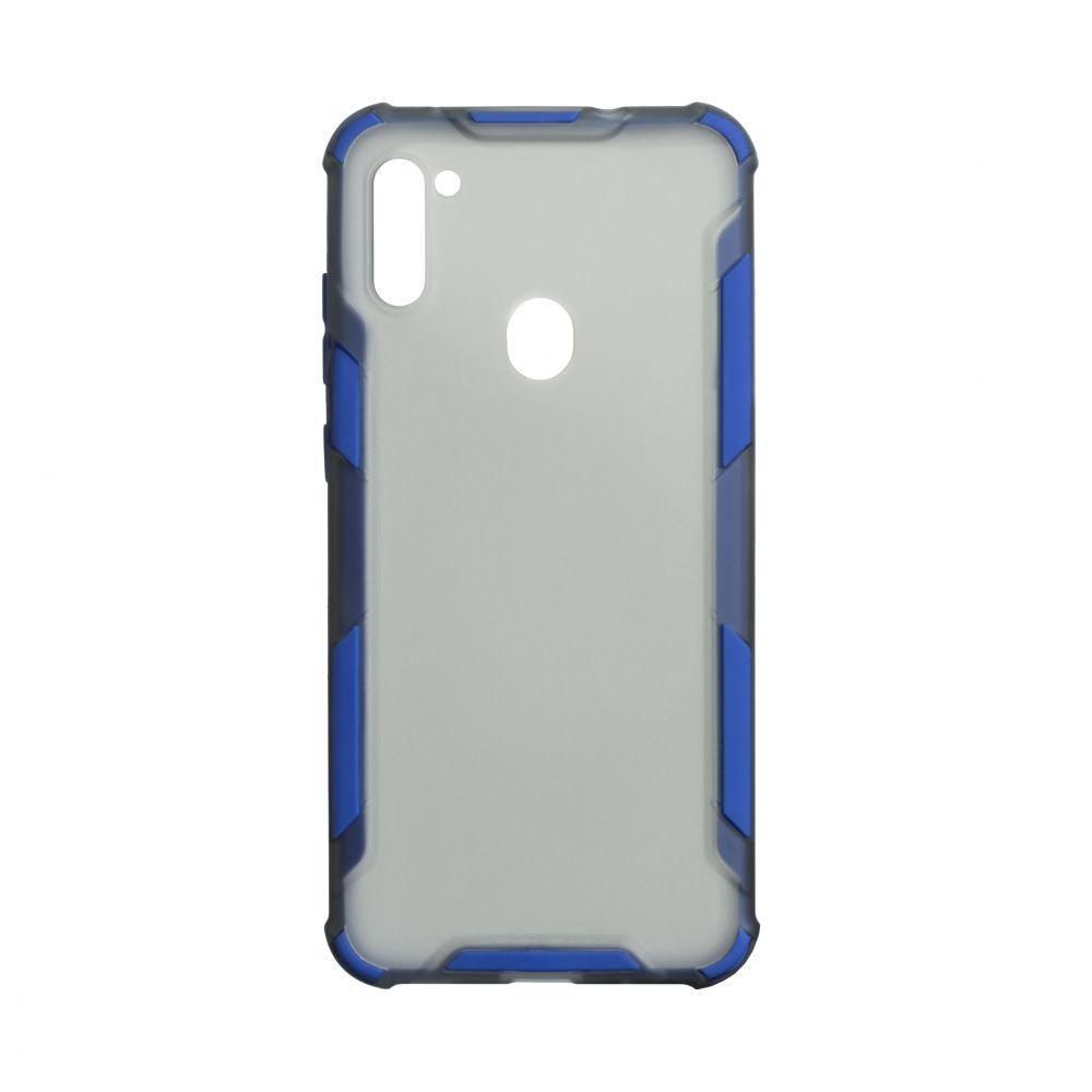 Чехол Armor Case Color for Samsung A11 Цвет Синий