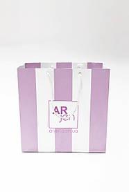 Пакет картонный 23 (розовый)