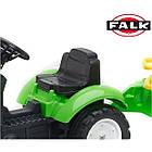 Дитячий педальний трактор Falk 2057G з причепом на педалях для дітей, фото 3