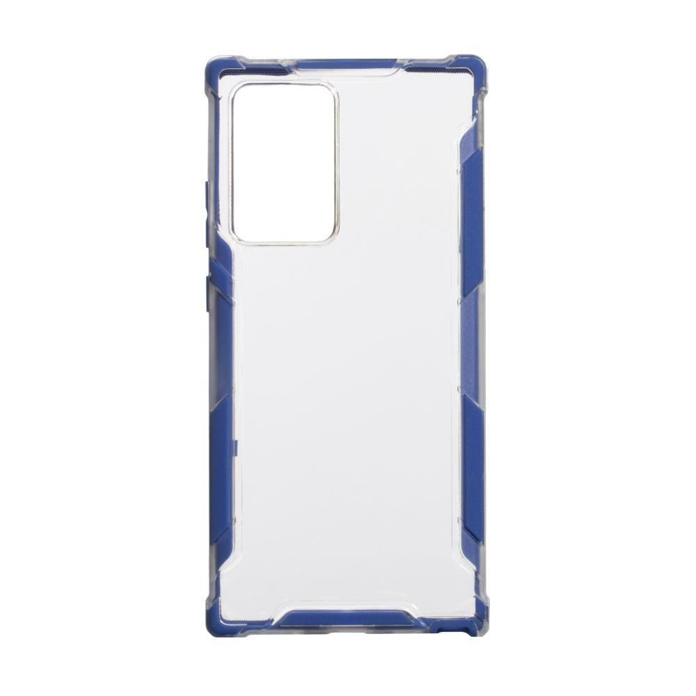 Чехол Armor Case Color Clear for Samsung Note 20 Plus Цвет Синий
