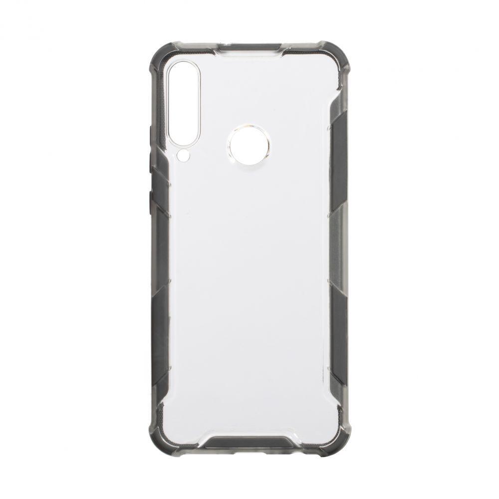Чехол Armor Case Color Clear для Huawei Y6P Eur Ver Цвет Серый
