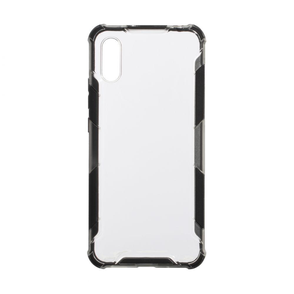 Чехол Armor Case Color Clear for Xiaomi Redmi 9A Цвет Чёрный