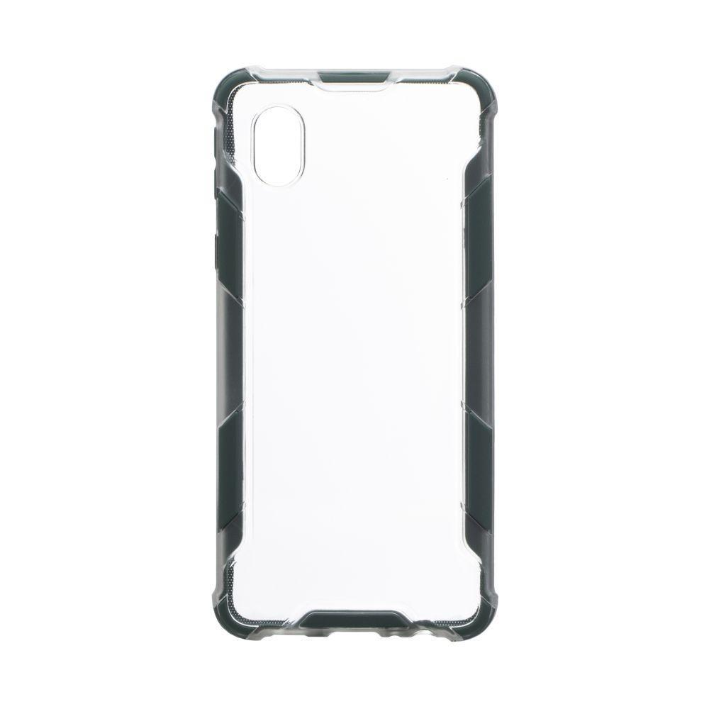 Чехол Armor Case Color Clear для Samsung A01 Core Цвет Зелёный