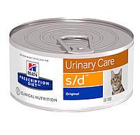 Hills Science Plan Prescription Diet Feline s/d Minced Chicken (Консерва для взрослых кошек для растворения
