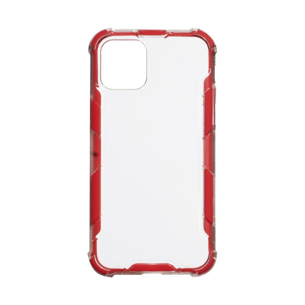 Чехол Armor Case Color Clear for Iphone 11 Pro Max Цвет Красный
