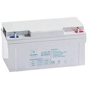 Аккумулятор гелевый 12В 65Ач Axioma Energy AX-GEL-65 для солнечных панелей