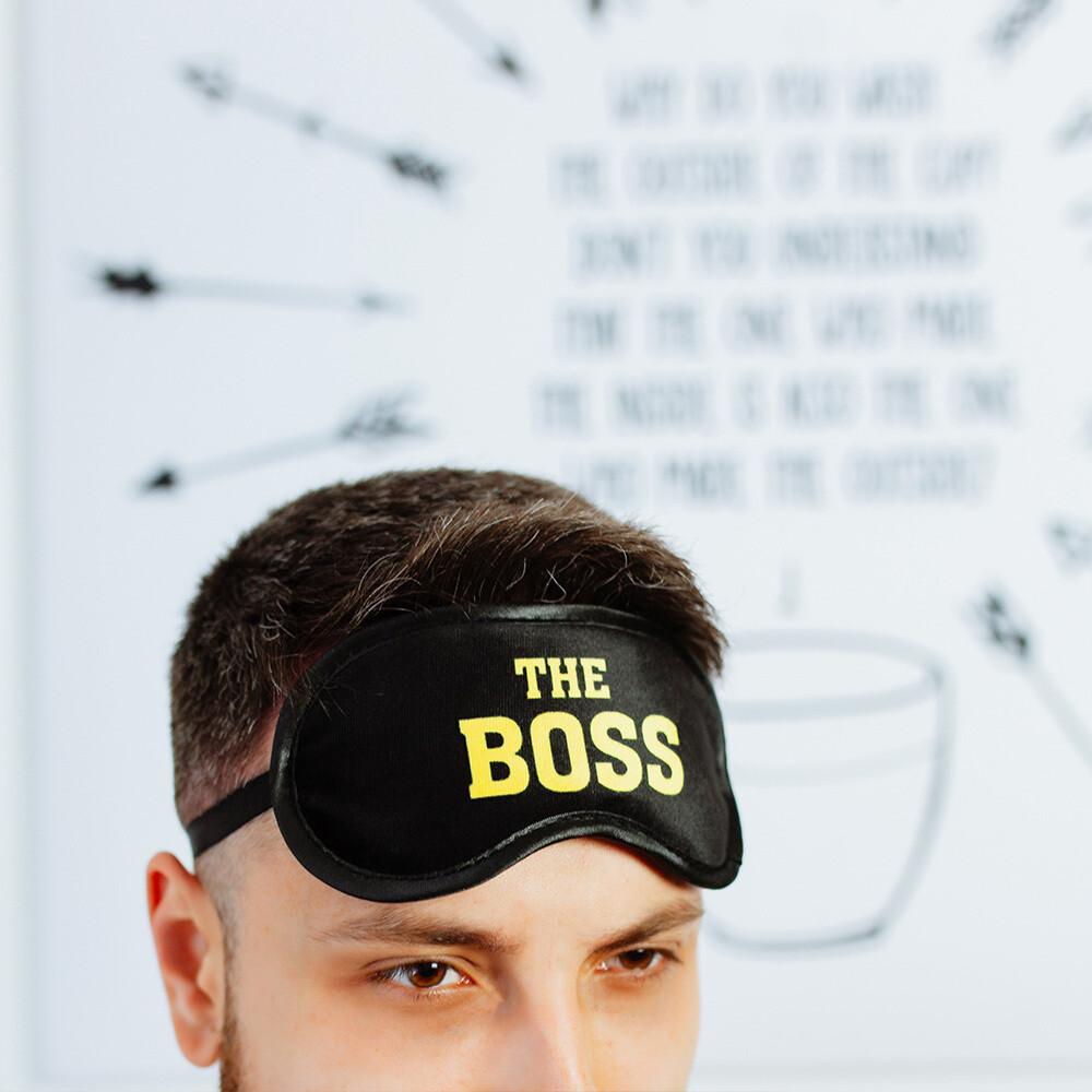Маска для сна Boss