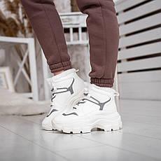 Жіночі зимові черевики Стіллі Елайз Pobedov (білі), фото 3