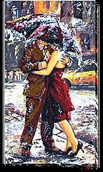 Набор для вышивания бисером История любви-2