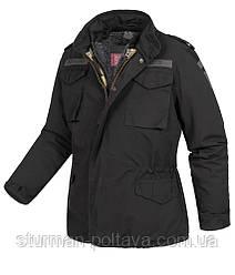 Куртка мужская зимняя  REGIMENT M 65 JACKET Vintage  SURPLUS цвет черный  размер S- (48-50)   Германия