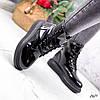 Черевики жіночі Frida чорний лак 2621, фото 5