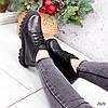 Ботинки женские Irma черные кожа 2626, фото 7