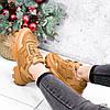 Кроссовки женские Liam кемел 2725 ЗИМА, фото 10