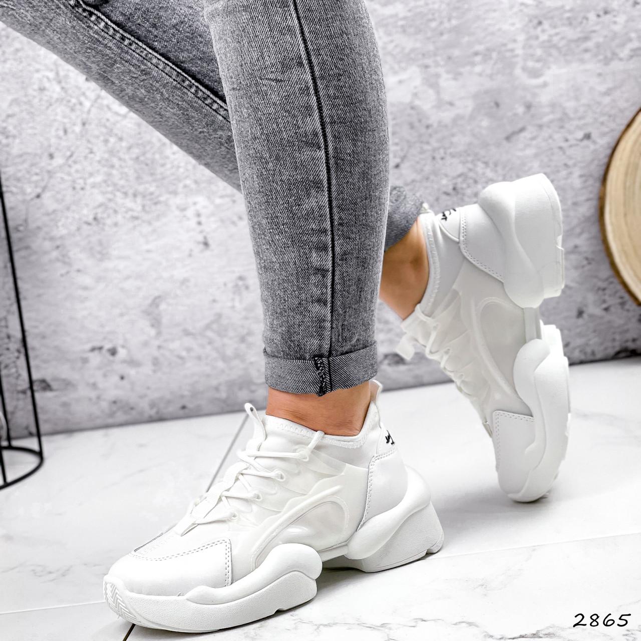 Кроссовки женские Ilar белые 2865
