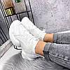 Кроссовки женские Ilar белые 2865, фото 5