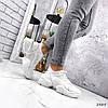 Кроссовки женские Ilar белые 2865, фото 9