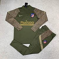Атлетико Мадрид 19/20 тренувальний костюм хакі, фото 1