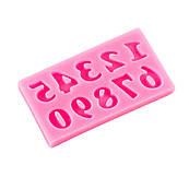Молд для мастики Цифри міні 1 см