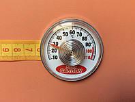 Термометр на самоклейці Kotly CARBON - Ø55мм / Тмах = 110°З Україна, фото 1