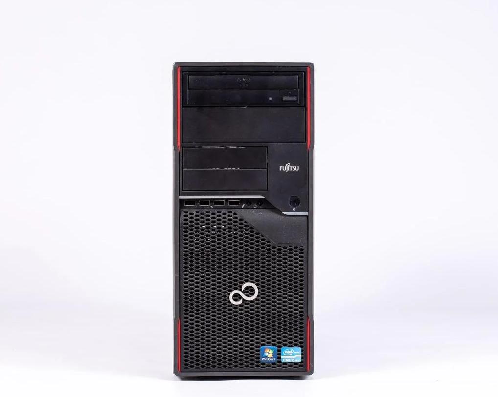 Системный блок Fujitsu CELSIUS W410 FT-Intel Core i5-2400-3,10GHz-4Gb-DDR3-HDD-500Gb-DVD-R-(B)- Б/У