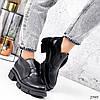 Лоферы высокие  Zanzi черные 2989, фото 5