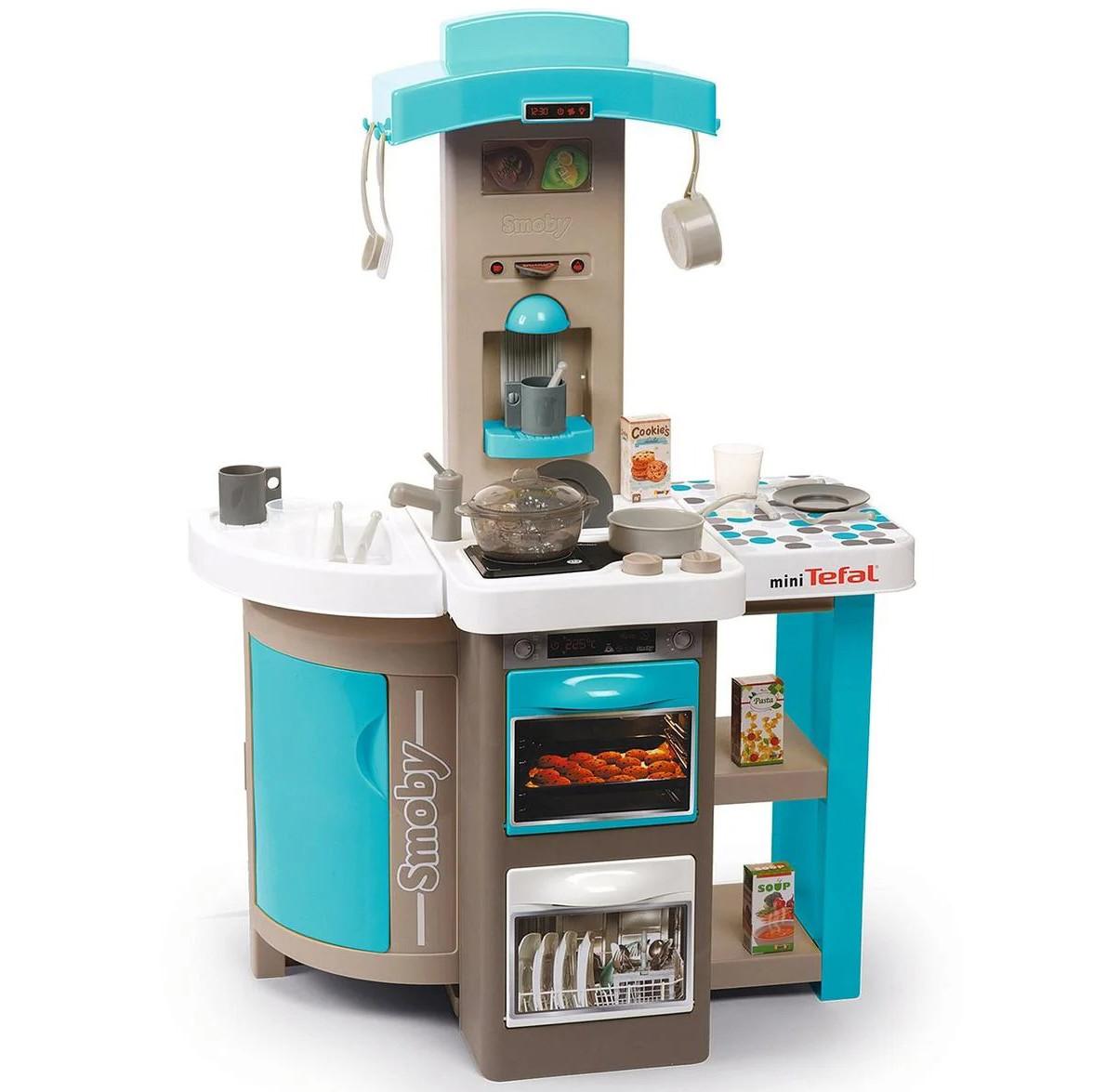 Дитяча інтерактивна ігрова кухня Tefal Opencook Smoby складна для дітей