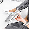 Туфли балетки женские Lorri серебро 2976, фото 3