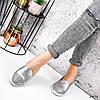 Туфли балетки женские Lorri серебро 2976, фото 8