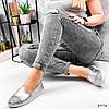 Туфли балетки женские Lorri серебро 2976, фото 10