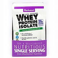 Ізолят сироваткового білка мікс ягід Whey Protein Isolate Bluebonnet Nutrition 8 пакетиків