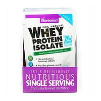 Ізолят сироваткового протеїну смак ванілі Whey Protein Isolate Bluebonnet Nutrition 8 пакетиків