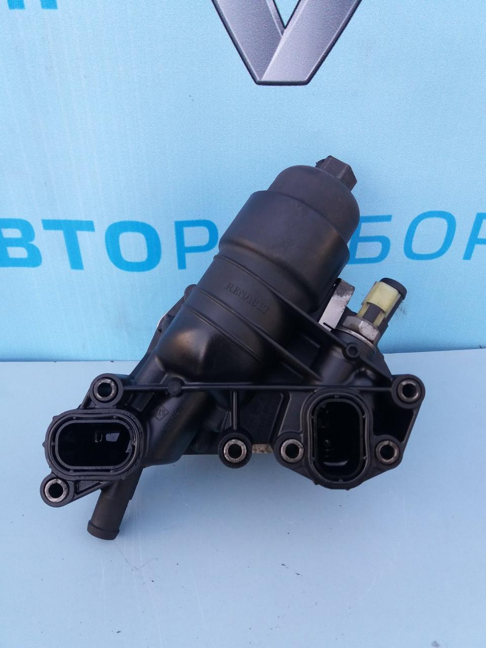 Корпус масляного фильтра 70375888 для Опель Виваро 1.6 dci Opel Vivaro 2014-2019 г. в.
